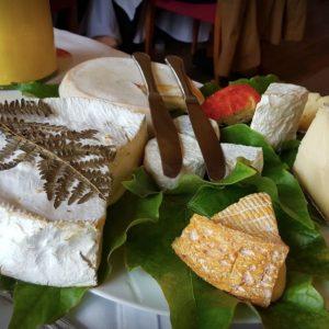 Restaurant Les platanes de Chénas, fromages